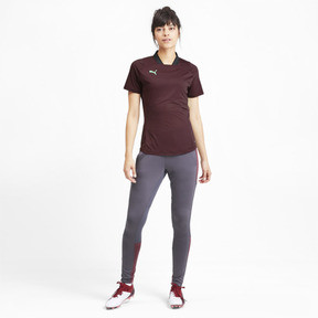 Thumbnail 3 of ftblNXT Pro Women's Football Shirt, Vineyard Wine-Green Glimmer, medium