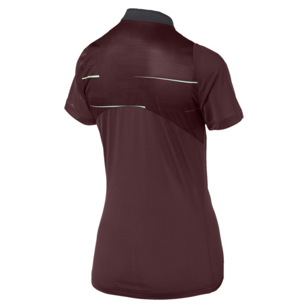 ftblNXT Graphic Damen Fußball Trainingstrikot, Vineyard Wine-Green Glimmer, large