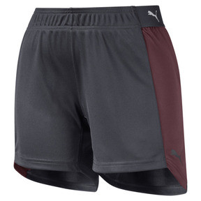 Thumbnail 4 of ftblNXT Women's Shorts, Ebony-Vineyard Wine, medium