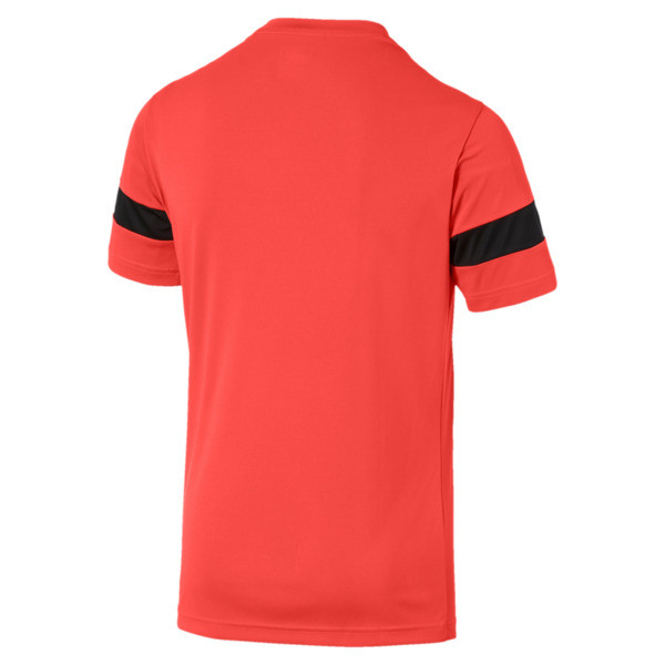 ftblPLAY Men's Training Tee, Nrgy Red-Puma Black, large