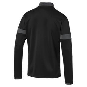 Thumbnail 5 of ftblPLAY Quarter Zip Men's Training Top, Puma Black-Asphalt, medium