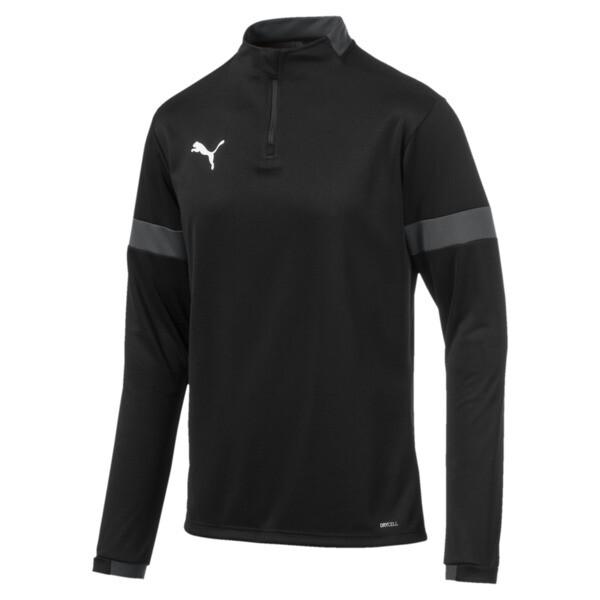 ftblPLAY Quarter Zip Men's Training Top, Puma Black-Asphalt, large