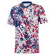 Engeland-voetbalshirt voor heren met korte mouwen, Limoges-High Risk Red, small