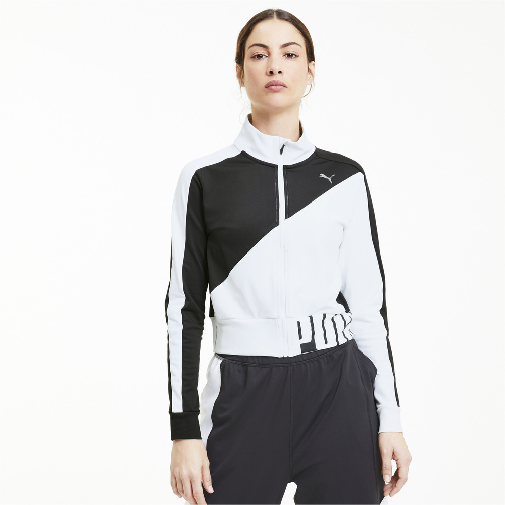 Image PUMA Stretch Knit Women's Training Track Jacket #1