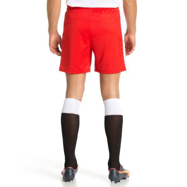 Pitch Shorts, puma red-white, large
