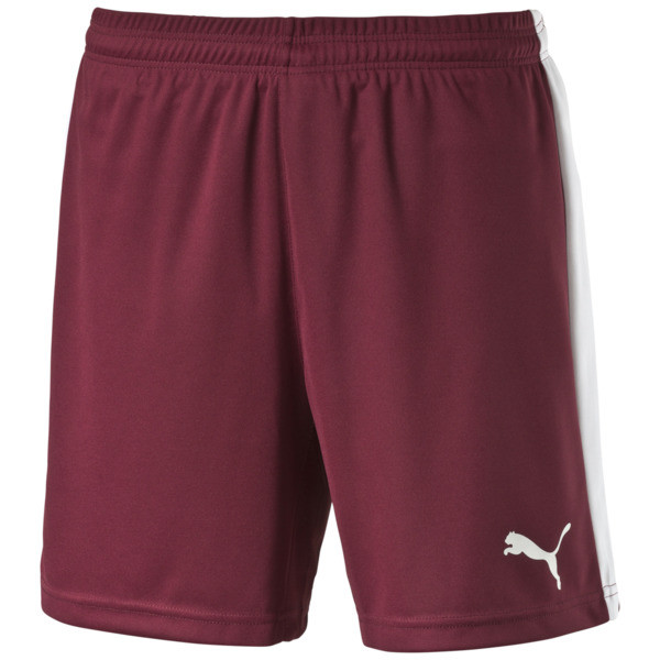 Pitch Shorts, team burgundy-white, large