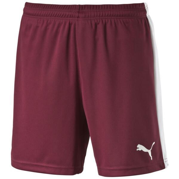 Short de foot, team burgundy-white, large