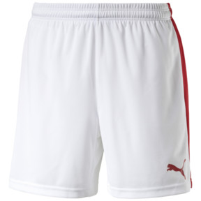 Thumbnail 1 of Fußballshorts, white-puma red, medium