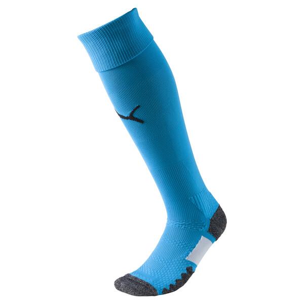 Football Match Socks, BLUE DANUBE-Black, large