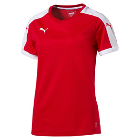 Thumbnail 1 of Football Women's Pitch Jersey, puma red-white, medium
