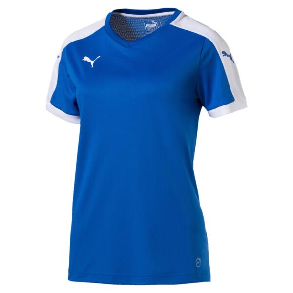 Football Women's Pitch Jersey, puma royal-white, large