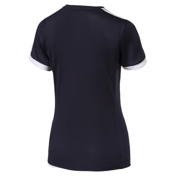 Football Women's Pitch Jersey, new navy-white, large