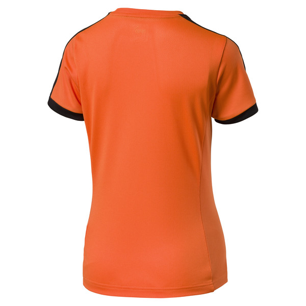 Fußball Damen Pitch Trikot, team orange-black, large