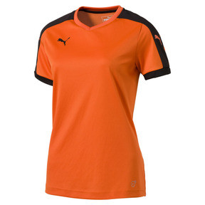 Thumbnail 1 of Football Women's Pitch Jersey, team orange-black, medium