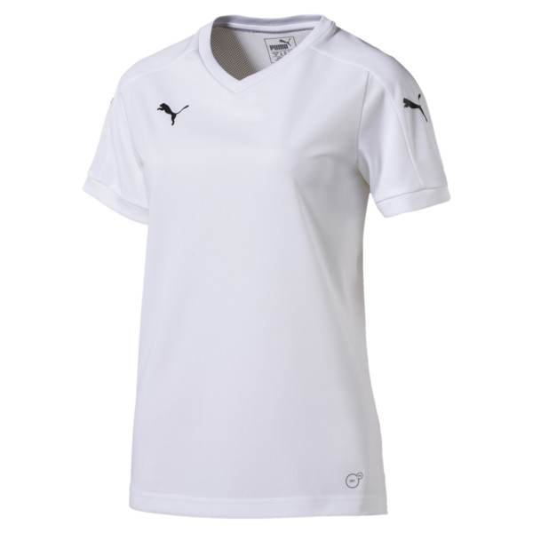 Football Women's Pitch Jersey, white-white, large