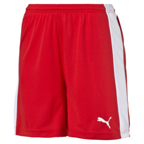 Thumbnail 1 of Damen Fußballshorts, puma red-white, medium