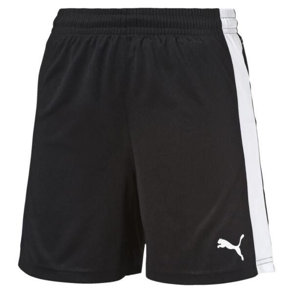 Damen Fußballshorts, black-white, large