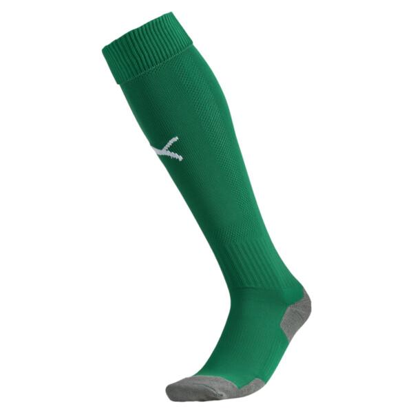 Fußball Striker Socken, power green-white, large