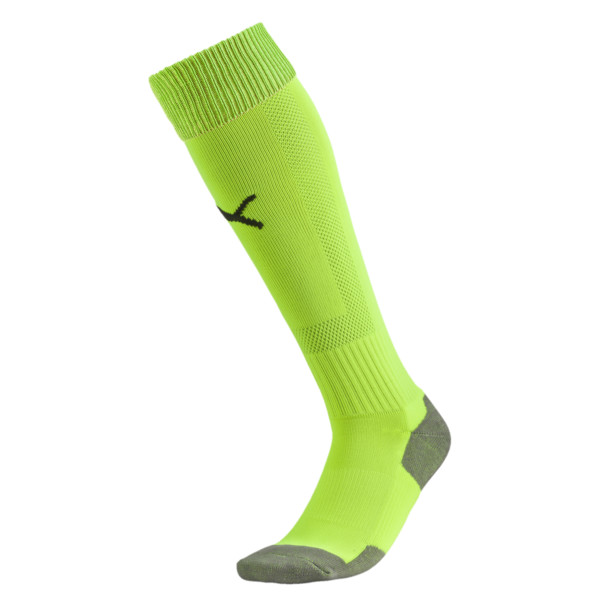 Fußball Striker Socken, fluro yellow, large