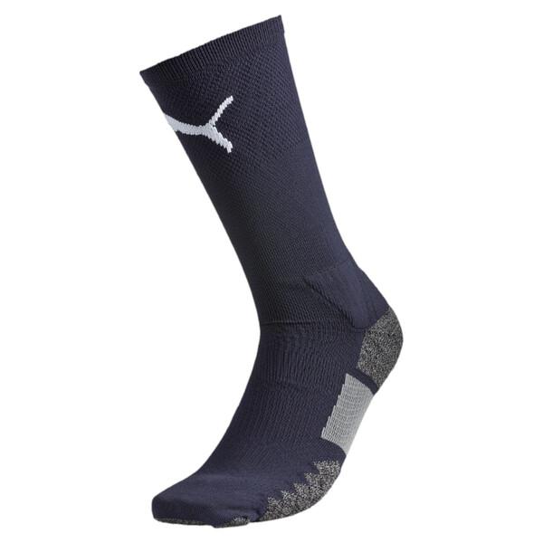 Football Match Crew Socks, new navy-white, large
