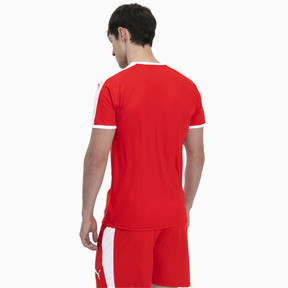 Thumbnail 2 of Liga Men's Football Jersey, Puma Red-Puma White, medium