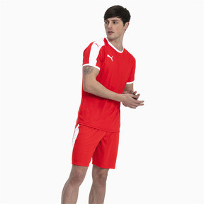 Thumbnail 3 of Liga Men's Football Jersey, Puma Red-Puma White, medium