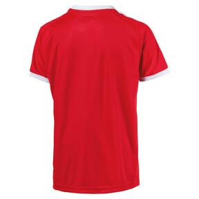 Thumbnail 2 of Liga Junior Football Jersey, Puma Red-Puma White, medium