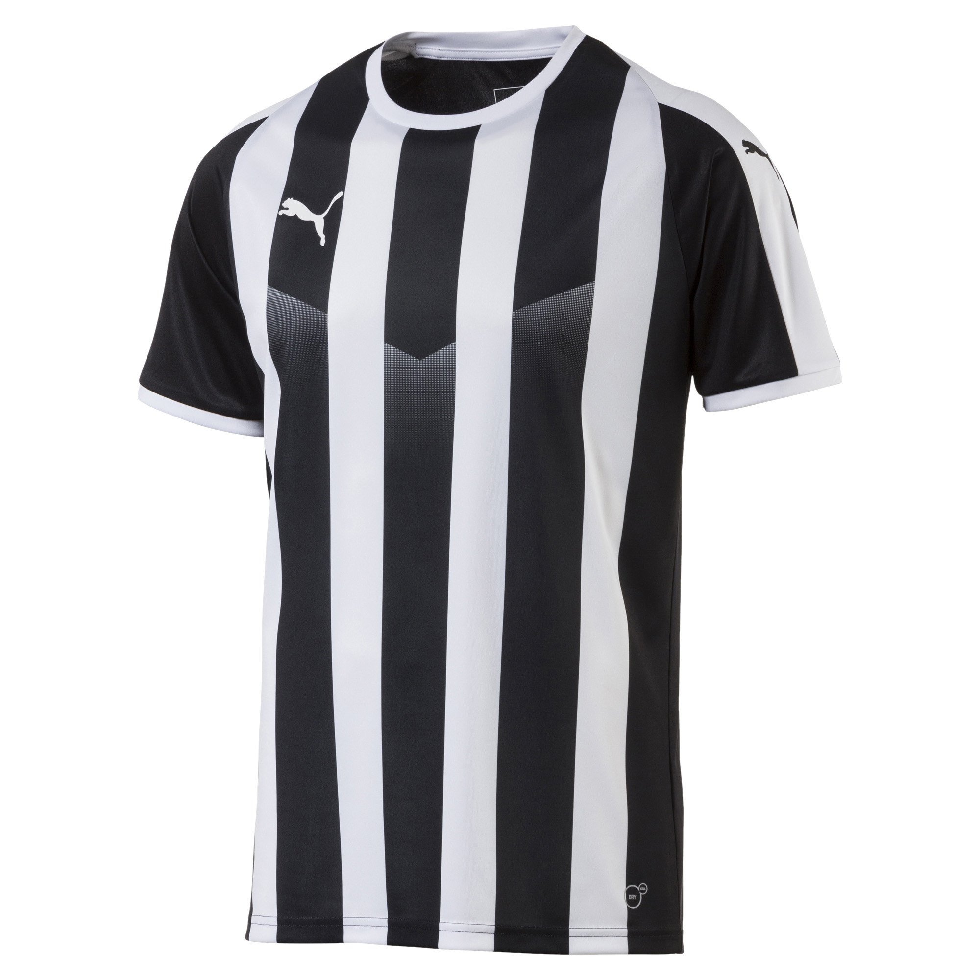 Camiseta de fútbol rayada para hombre Liga