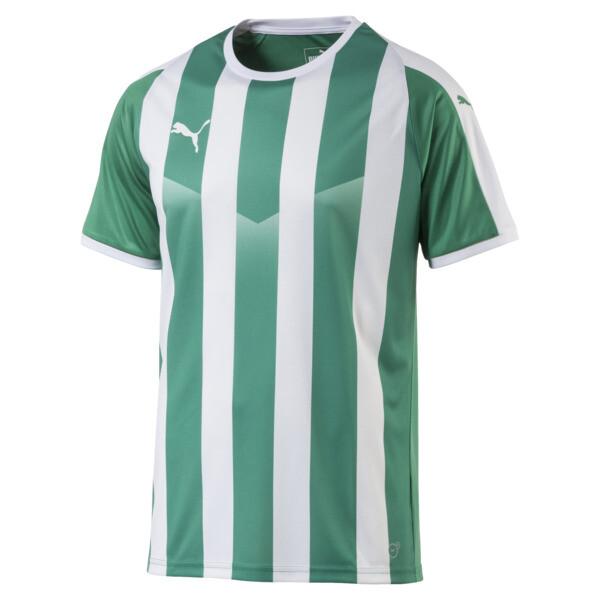 fd1823b4d20 Liga Men's Striped Football Jersey | Pepper Green-Puma White | PUMA ...
