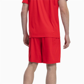 Thumbnail 2 of Liga Core Men's Football Shorts, Puma Red-Puma White, medium