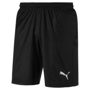 Thumbnail 4 of Liga Core Men's Football Shorts, Puma Black-Puma White, medium