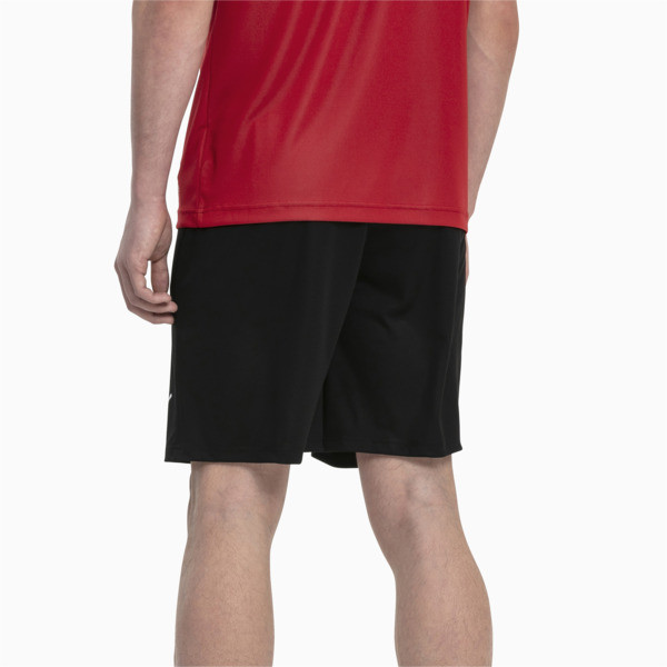 Liga Core Men's Football Shorts, Puma Black-Puma White, large