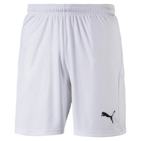 Thumbnail 4 of Short Football LIGA Core pour homme, Puma White-Puma Black, medium