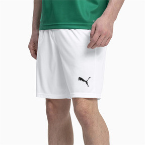 Thumbnail 1 of Short Football LIGA Core pour homme, Puma White-Puma Black, medium
