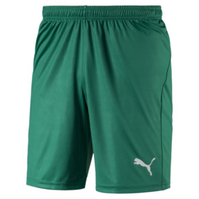 Thumbnail 1 of Liga Core Men's Football Shorts, Pepper Green-Puma White, medium