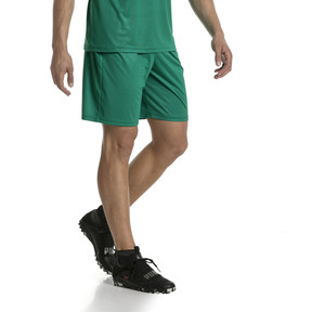Thumbnail 2 of Liga Core Men's Football Shorts, Pepper Green-Puma White, medium