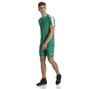 Thumbnail 5 of Liga Core Men's Football Shorts, Pepper Green-Puma White, medium