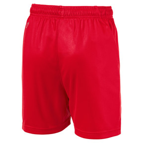 Thumbnail 2 of Liga Core Junior Football Shorts, Puma Red-Puma White, medium