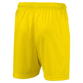 Thumbnail 2 of Liga Core Junior Football Shorts, Cyber Yellow-Puma Black, medium