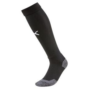 Thumbnail 1 of Liga Soccer Socks [1 Pair], Puma Black-Puma White, medium