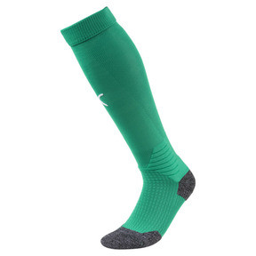 Thumbnail 1 of Liga Football Socks, Pepper Green-Puma White, medium