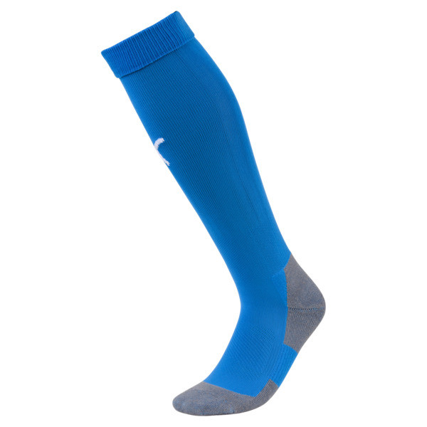 Chaussettes Football LIGA Core pour homme, Electric Blue L-Puma White, large
