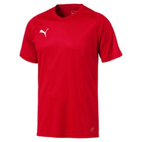 Thumbnail 4 of Liga Core Men's Football Jersey, Puma Red-Puma White, medium