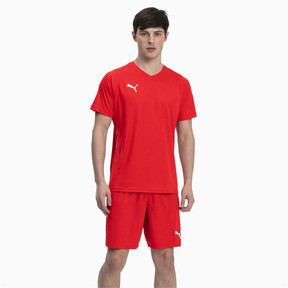 Thumbnail 3 of Liga Core Men's Football Jersey, Puma Red-Puma White, medium