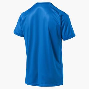 Thumbnail 5 of Liga Core Men's Football Jersey, Electric Blue Lemonade-White, medium