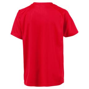 Thumbnail 2 of Liga Core Junior Football Jersey, Puma Red-Puma White, medium