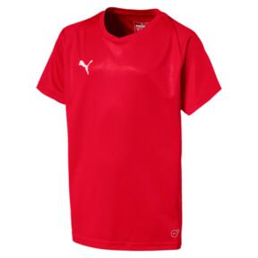 Thumbnail 1 of Liga Core Junior Football Jersey, Puma Red-Puma White, medium