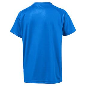 Thumbnail 2 of Liga Core Junior Football Jersey, Electric Blue Lemonade-White, medium