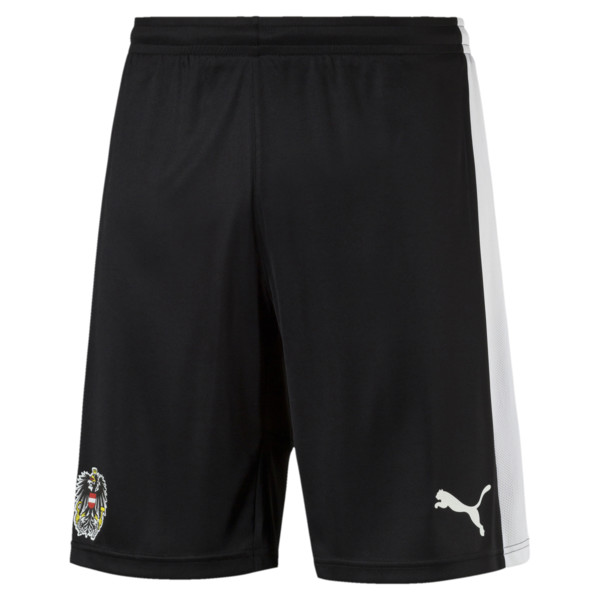 Austria Shorts, black-white, large