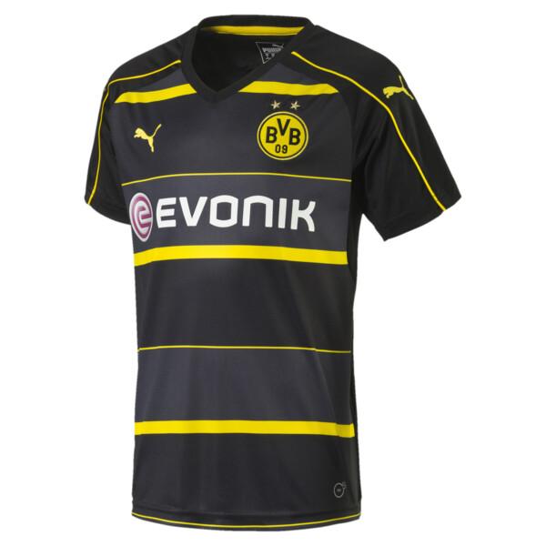 1b69a6f1 BVB Away Kids' Replica Jersey, black-cyber yellow, large. ‹ ›